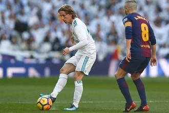 Эпизод матча «Реал» — «Барселона»