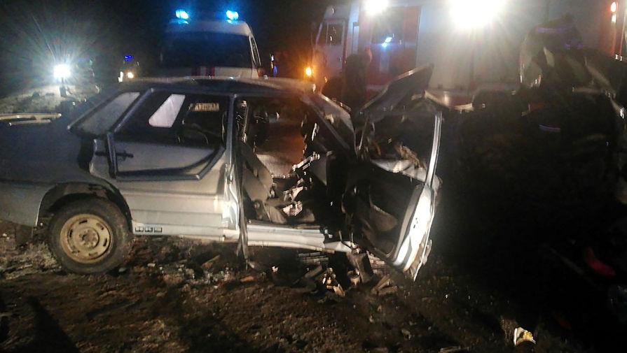 Шесть человек погибли в ДТП под Смоленском