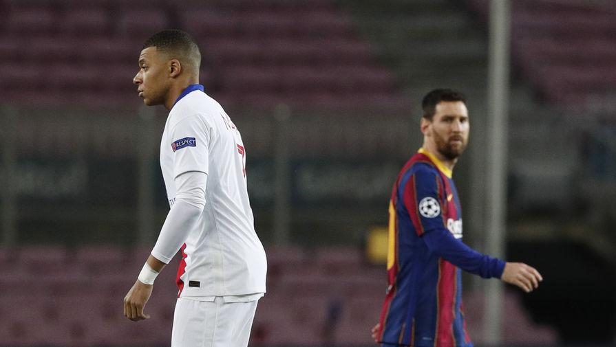 Хет-трик Мбаппе помог ПСЖ разбить Барселону