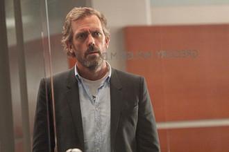 Британский актер Хью Лори в роли доктора Грегори Хауса в одноименном телесериале