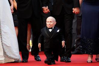 Верн Тройер на премьере фильма «Воображариум доктора Парнаса» на 62-м Каннском кинофестивале, 24 мая 2009 года