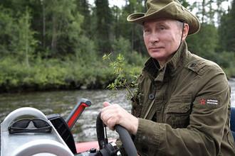 Путин в тайге: как отдохнул в субботу президент