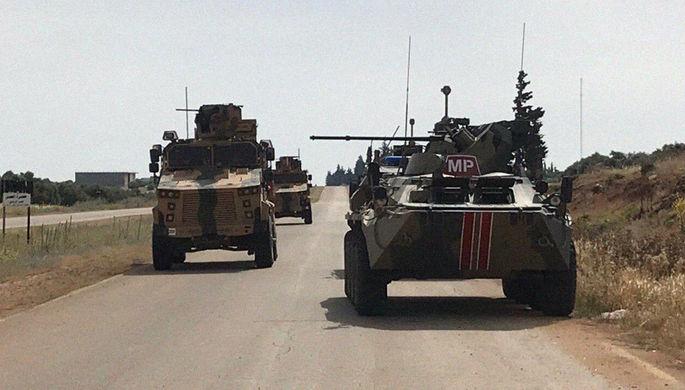 Взорвали патруль: российский БТР подорвался в Сирии