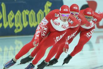 Россияне завоевали бронзу в командной гонке на ЧМ