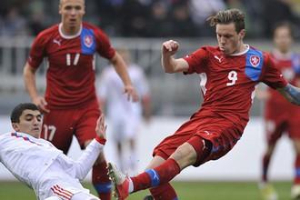 Молодежная сборная России обыграла Чехию