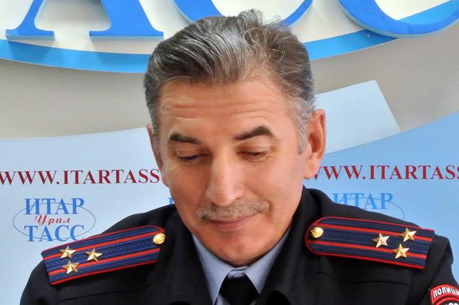 Глава ГИБДД Свердловской области Юрий Дёмин