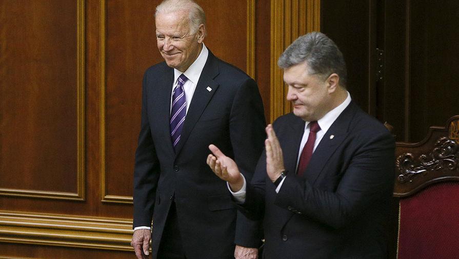 На Украине опубликовали запись разговора Порошенко и Байдена