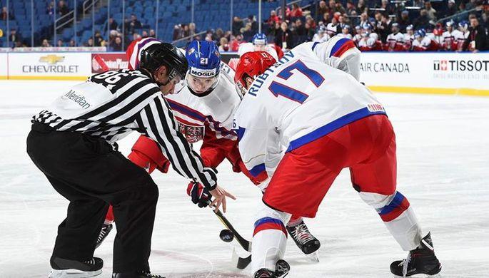 В матче против Чехии Герман Рубцов (№17) сделал две голевые передачи
