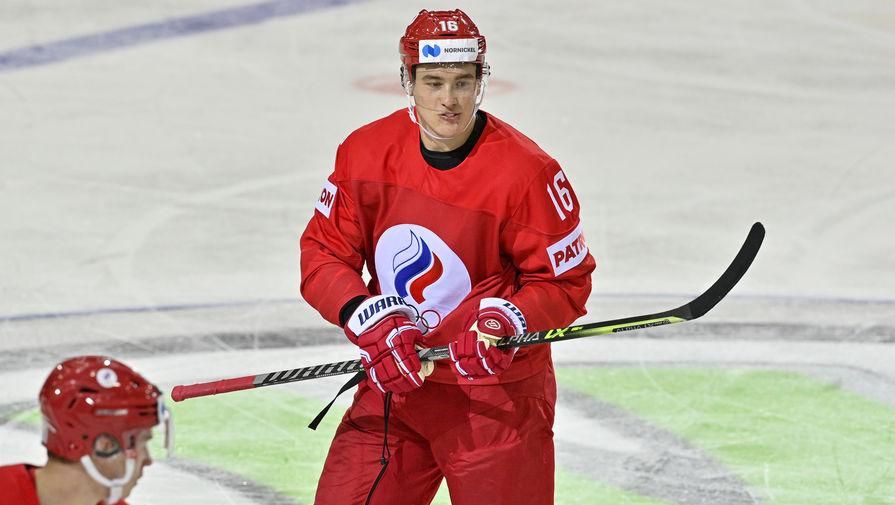 Защитник сборной России Никита Задоров