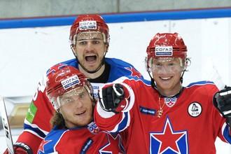 Армейские хоккеисты обыграли «Сибирь»