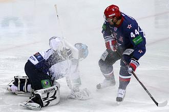 СКА дома проиграл московскому «Динамо»