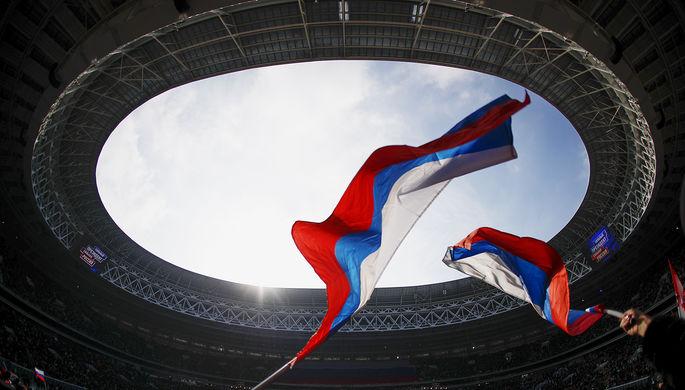 Отвернулся от флага России: украинец устроил скандал в ФНЛ