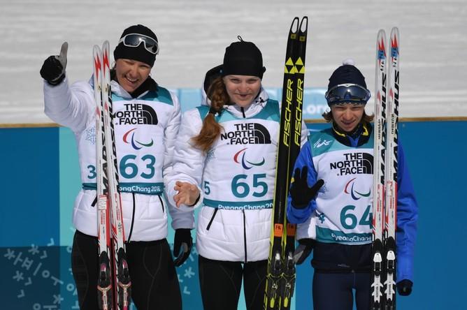 Российские биатлонистки Румянцева и Миленина выиграли золото и серебро на Паралимпиаде
