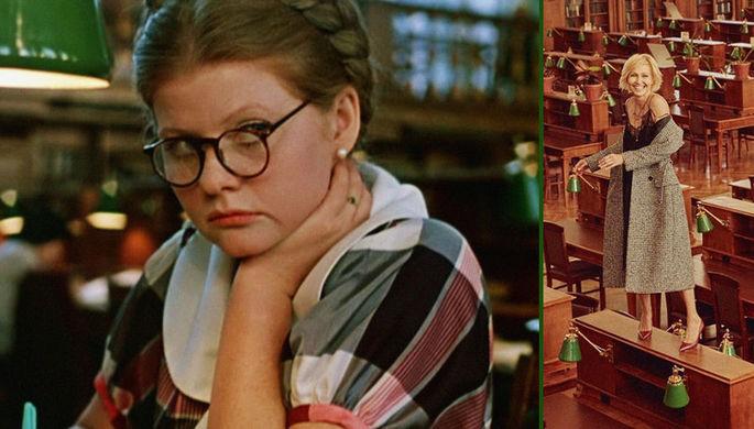 Кадр из фильма «Москва слезам не верит» (1979) и фотография из инстаграма Ингеборги Дапкунайте, коллаж