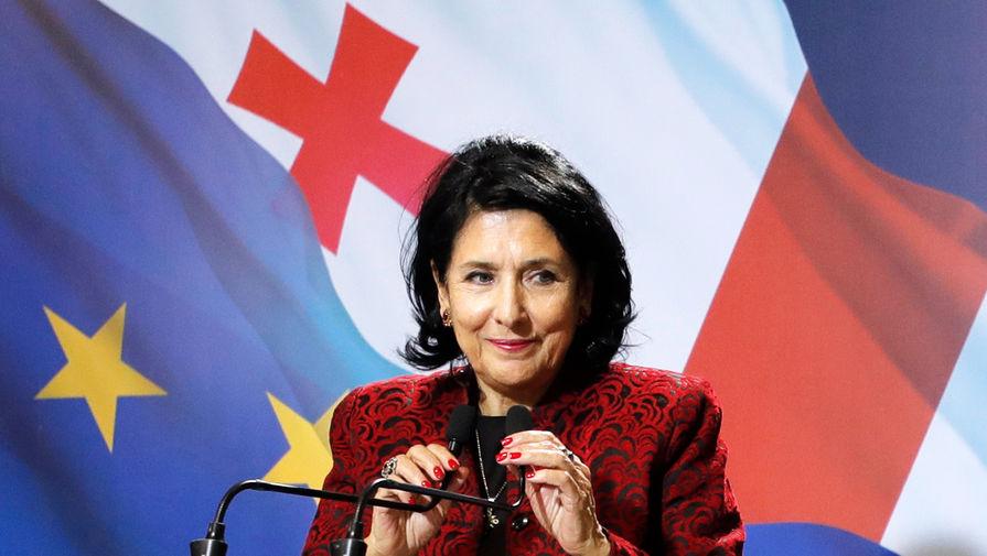 """Gürcüstan prezidenti:<span style=color:#ff0000> """"Rusiya ilə siyasi dialoq aktivləşdirilməlidir""""</span>"""