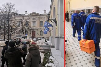 Ситуация на журфаке МГУ на Моховой улице, 7 февраля 2019 года