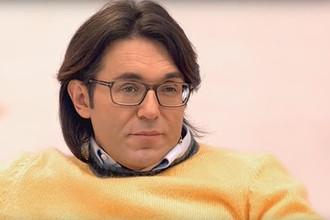 Андрей Малахов в студии программы «Судьба человека» с Борисом Корчевниковым, кадр из видео