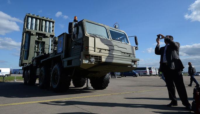 Разработка С-350 «Витязь» завершена в России