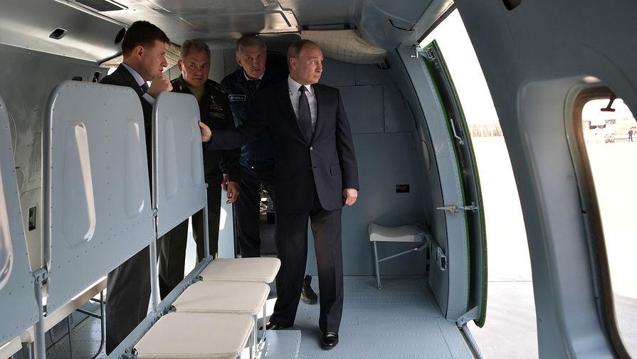 Полет самолета Путина в сопровождении шести Су-57 попал на видео