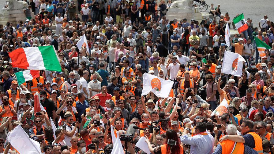 «Революция в Европе»: Италия тонет в «оранжевом протесте»