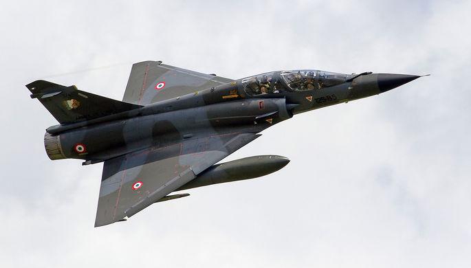 Во Франции истребитель пропал с радаров