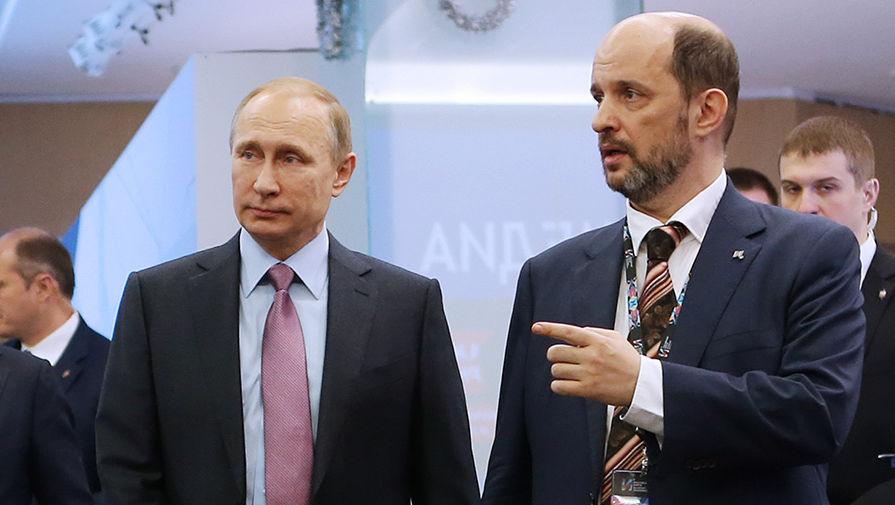 Владимир Путин и Герман Клименко