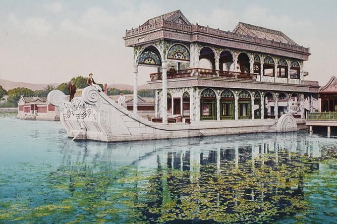Летний дворец в Пекине, 1889-1911