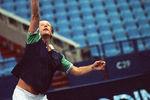 1992 год. Михаил Задорнов натеннисном турнире «Большая шляпа»