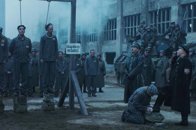 Кадр из клипа Rammstein- Deutschland