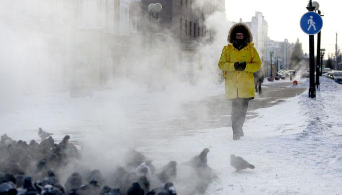 Опасные морозы: в России похолодает до-56°C