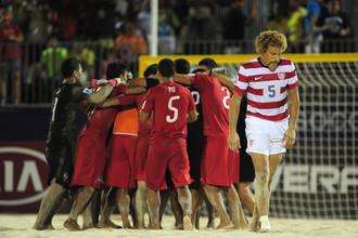 Американцы не справились со сборной Таити