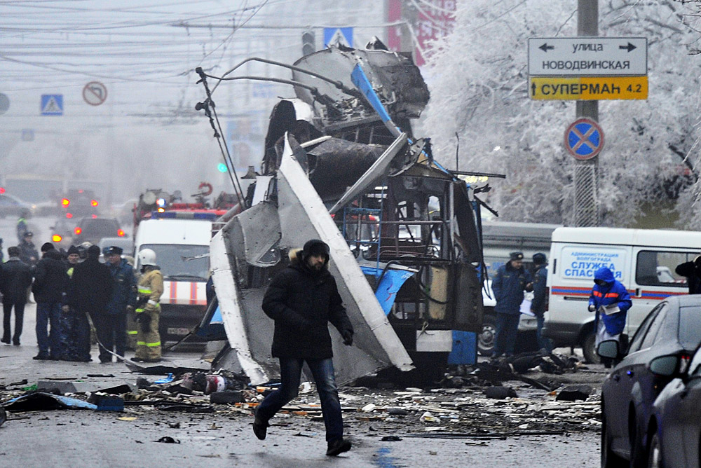 троллейбуса теракт в волгограде фото