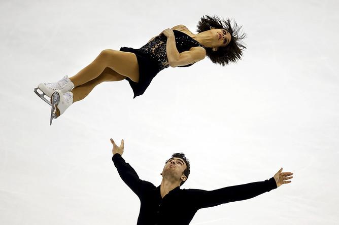Чемпионы мира Меган Дюамель и Эрик Рэдфорд из Канады