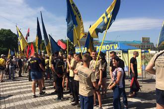 Гражданский корпус «Азов» в Харькове