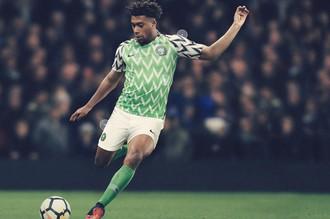 Домашняя форма сборной Нигерии на чемпионат мира — 2018