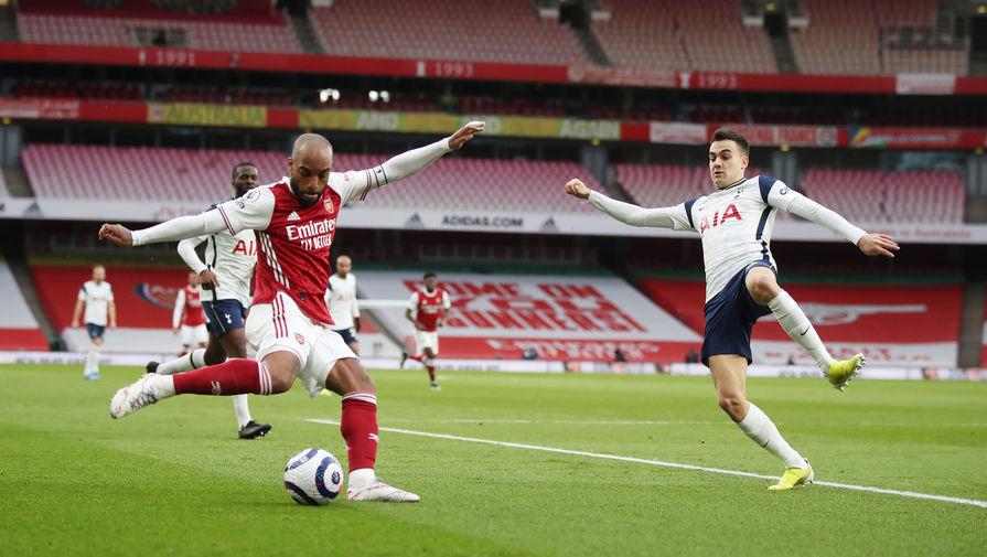 Эпизод матча «Арсенал» — «Тоттенхэм»