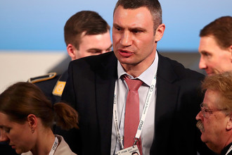 Мэр Киева Виталий Кличко на Мюнхенской конференции