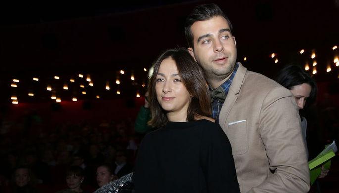 Иван Ургант с супругой Натальей Кикнадзе