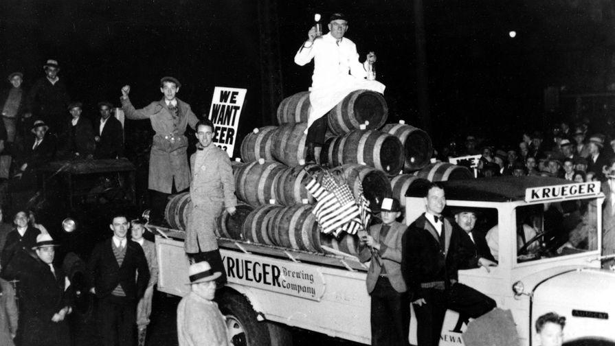 100 лет назад в США ратифицировали введение сухого закона