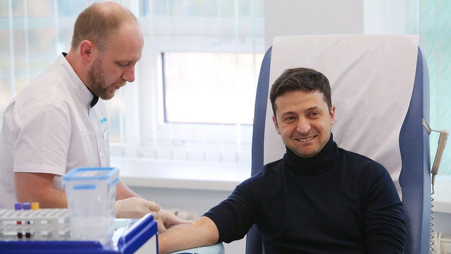 Кандидаты в президенты Украины сдают анализы на наркотики и алкоголь