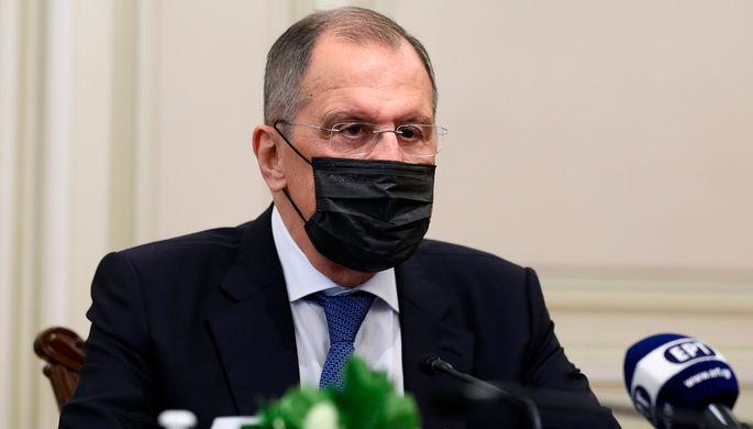 «Встречи переносятся»: Лавров ушел на «удаленку»