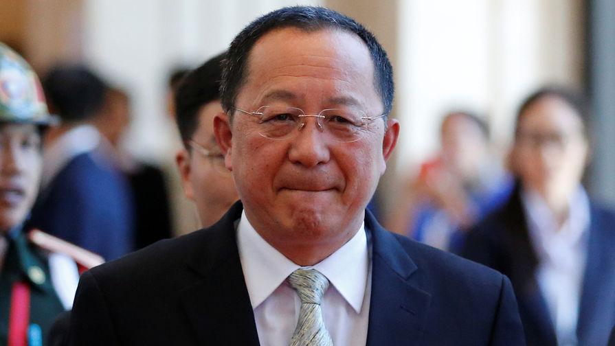 Глава МИД КНДР Ли Ен Хо