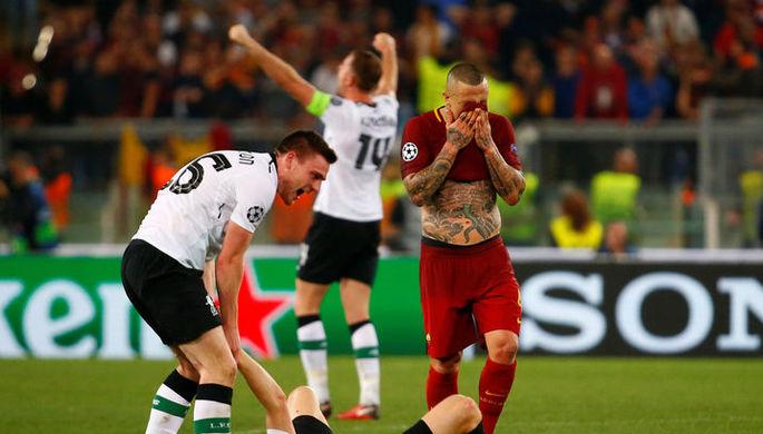 «Ливерпуль» празднует выход в финал Лиги чемпионов