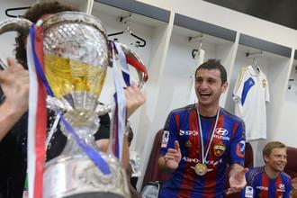 Алану Дзагоеву после «золотого» матча было весело