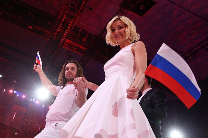 Представительница России Полина Гагарина