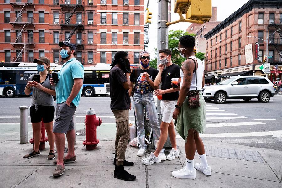 Наулицах Нью-Йорка, 2020 год