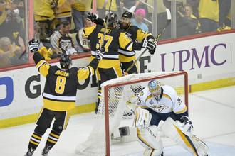 «Питтсбург» одержал победу над «Нэшвиллом» в первом матче финала Кубка Стэнли