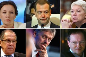 «Кремлевский доклад»: полный список