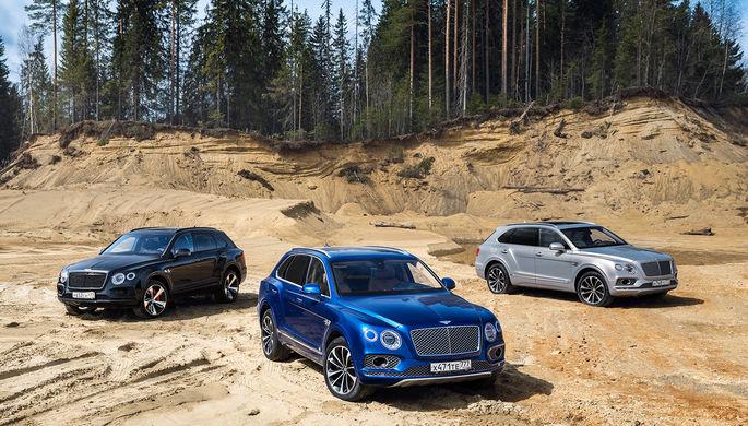 Дизельный Bentley Bentayga: время дорого