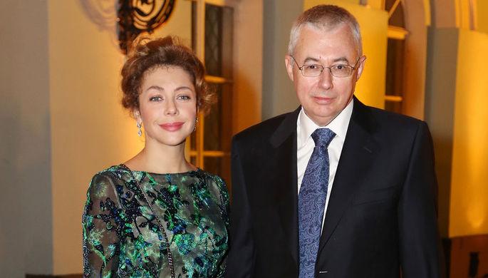 Божена Рынска с Игорем Малашенко, 2012 год